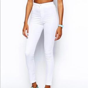 American Apparel White Jeans